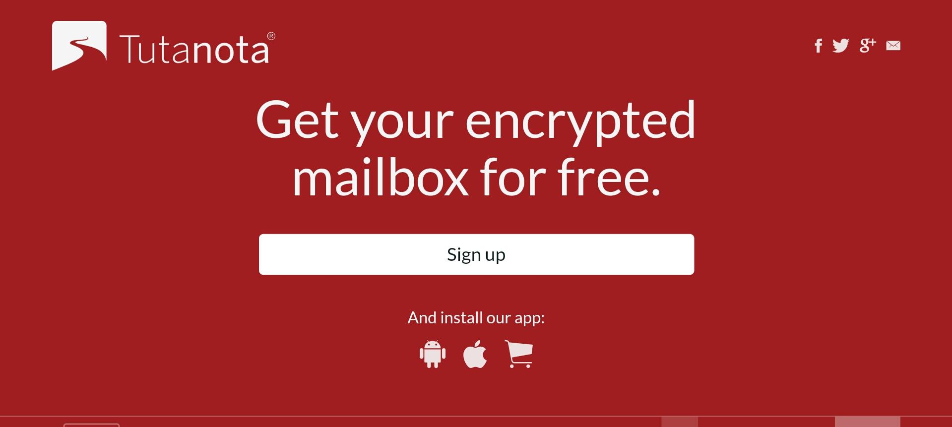 Tutanota – Start Using Free Encrypted Email