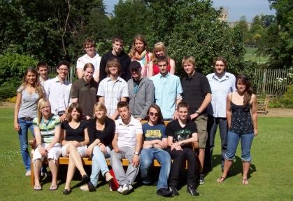 University of Oxford, England, 2008